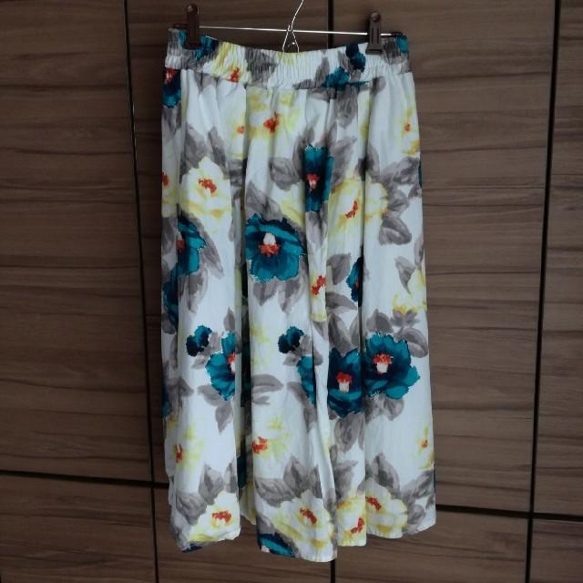 しまむら(シマムラ)のしまむら 花柄スカート レディースのスカート(ひざ丈スカート)の商品写真