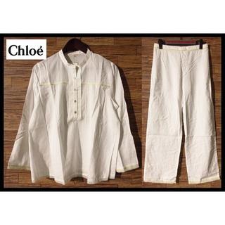 Chloe - 新品 定価22,050円 クロエ ランジェリー レース装飾 パジャマ L 日本製