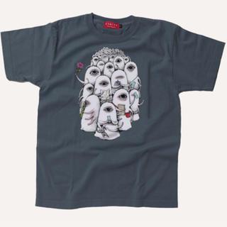 ヒグチユウコ ひとつめちゃん Tシャツ(Tシャツ(半袖/袖なし))