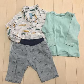 ハッシュアッシュ(HusHush)のシャツ&ズボン 90㎝ (Tシャツ/カットソー)