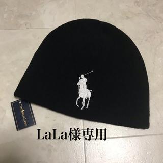 POLO RALPH LAUREN - POLO ラルフローレン ビックポロ 新品 ニット帽子