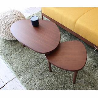 新品未使用 ブラウン Swing Table