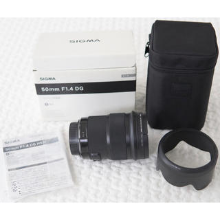Canon - SIGMA 50mm f1.4 DG Canon用