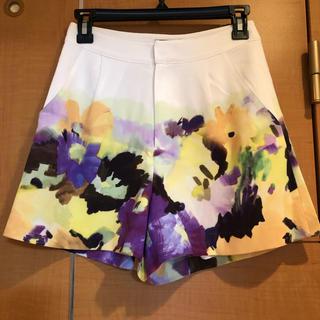 グレースコンチネンタル(GRACE CONTINENTAL)のGRACE CONTINENTAL short pants(ショートパンツ)