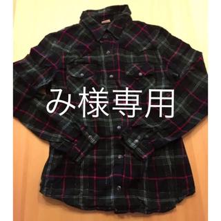ネルシャツ(シャツ/ブラウス(長袖/七分))