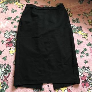ジーユー(GU)のGU 大きい ペンシル風タイトスカート(ひざ丈スカート)