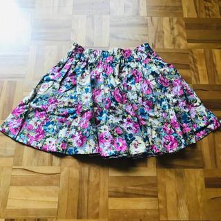 ローリーズファーム(LOWRYS FARM)のお買得❣️ローリーズファーム 花柄スカート ミニスカート(ミニスカート)