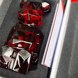 MEDICOM TOY - BE@RBRICK fragmentdesign POLYGON RED