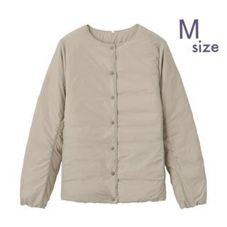MUJI (無印良品) - 無印良品  軽量オーストラリアダウンポケッタブルノーカラーブルゾン 婦人・M