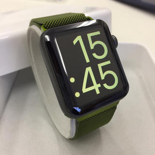 アップルウォッチ(Apple Watch)のApple Watch series2  スペースグレー アップルウォッチ(その他)