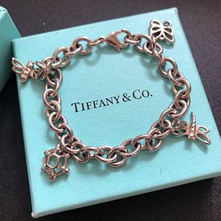 Tiffany & Co. - ティファニー4チャームブレスレッド