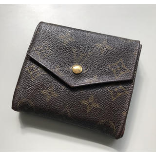 LOUIS VUITTON - 正規品 ルイヴィトン Wホック 財布 男女