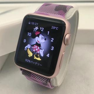 アップルウォッチ(Apple Watch)のApple Watch SPORT 人気色 ローズゴールド アップルウォッチ(その他)