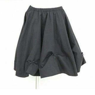 フォクシー(FOXEY)のケイガーデン リボンスカート(ひざ丈スカート)