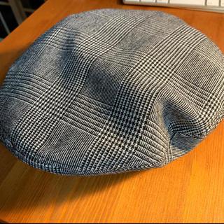 エイチアンドエム(H&M)の新品 ヘネスアンドマウリッツ   ハンチング  チェック柄ベレー帽 (ハンチング/ベレー帽)