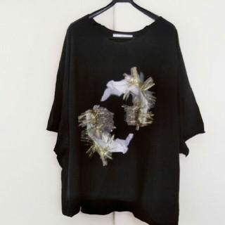 Yohji Yamamoto - 破格!BALMUNG  オーバーサイズビックTシャツ black