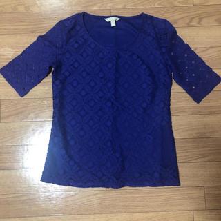 バナナリパブリック(Banana Republic)の半袖(Tシャツ(半袖/袖なし))