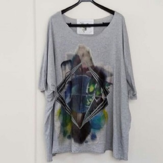 Yohji Yamamoto - 【ぽっぷ】balmung オーバーサイズビックTシャツ gray