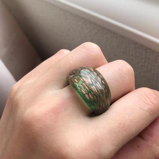 ガラスリング 指輪(リング(指輪))