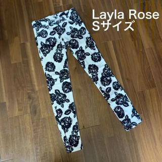 レイラローズ(Layla Rose)の美品 花柄パンツ(スキニーパンツ)