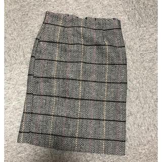 ディーホリック(dholic)のDHOLIC ヘリンボーンペンシルスカート(ひざ丈スカート)
