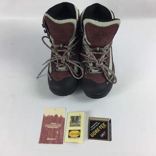 モンベル(mont bell)のトレッキング 登山靴ツオロミーブーツmont-bell 23.5 レッド 未使用(スニーカー)