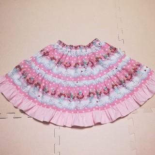 シャーリーテンプル(Shirley Temple)のシャーリーテンプル パフェスカート 130(スカート)