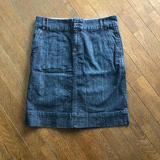 ギャップ(GAP)のデニムスカート(ひざ丈スカート)