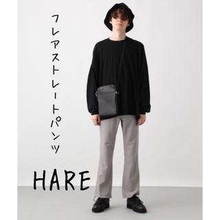 ハレ(HARE)のHARE ハレ ストレートフレアパンツ(スラックス)