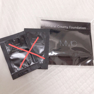 エムアイエムシー(MiMC)のMiMC  ファンデーション2種 サンプル ノベルティ(ファンデーション)