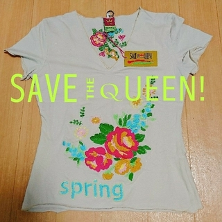 SAVE THE QUEEN Tシャツ ☆美品☆