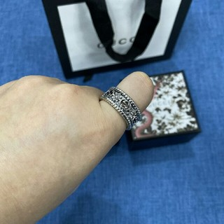 グッチ(Gucci)のGUCCI グッチ リング 指輪 美品 男女兼用 刻印あり(リング(指輪))