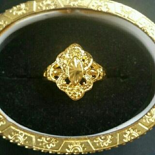◆4◆ゴールドリング(リング(指輪))