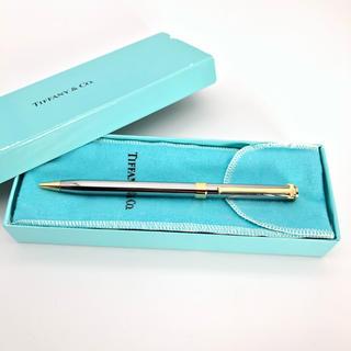 ティファニー(Tiffany & Co.)のTiffany ティファニー Tロゴ ボールペン  正規品(ペン/マーカー)