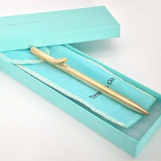 ティファニー(Tiffany & Co.)のSV925 Tiffany ティファニー ビーンズ ボールペン 正規品(ペン/マーカー)