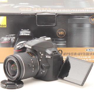 Nikon - ⭐️極上品スマホに転送&自撮り Nikon D5300レンズキット⭐️