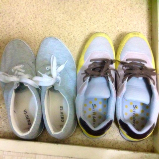 靴 2足セット(スニーカー)