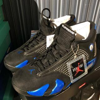 シュプリーム(Supreme)の28cm Supreme®/Nike® Air Jordan 14 黒(スニーカー)