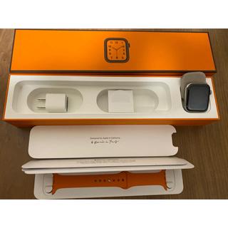 アップルウォッチ(Apple Watch)のけんしみ様専用 Apple Watch Hermes Series4(腕時計(デジタル))