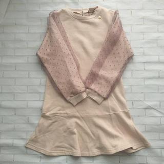 petit main - 新品 プティマイン 130cm ワンピース ピンク