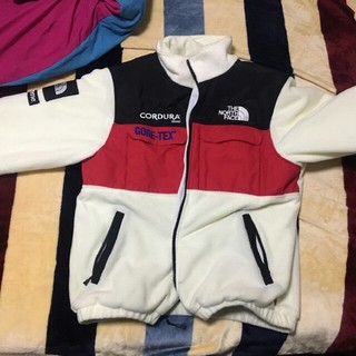 THE NORTH FACE - Supreme TNF Fleece Jacket L 白と黒