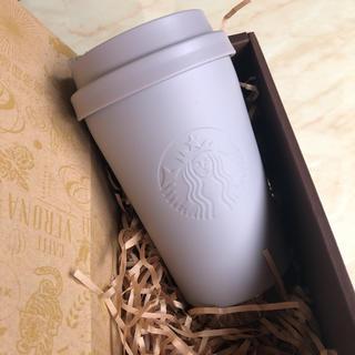 Starbucks Coffee - 【新品未使用】スターバックス ステンレス ToGo ロゴタンブラー  グレージュ