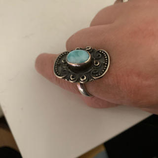 ラリマーのリング20号(リング(指輪))