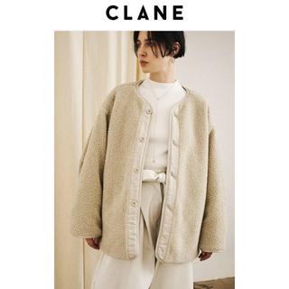 IENA - CLANE  リバーシブルボアジャケット
