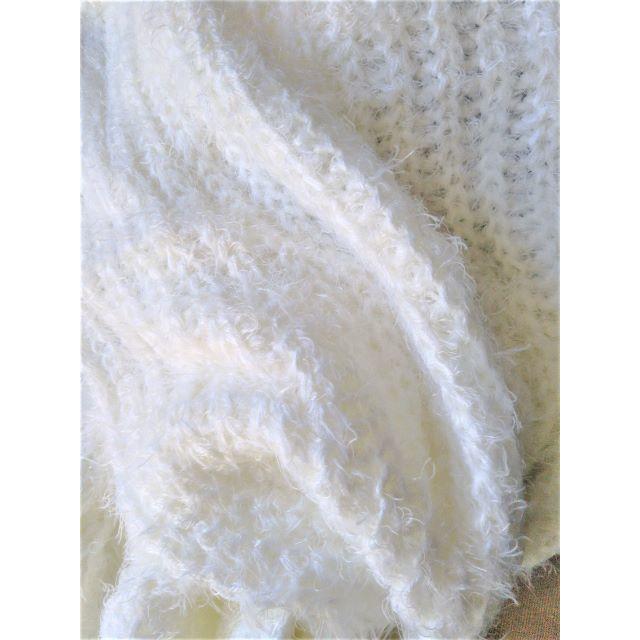 しまむら(シマムラ)の【新品・送料無料】しまむら 2wayスヌード マフラー 白 ホワイト  レディースのファッション小物(スヌード)の商品写真