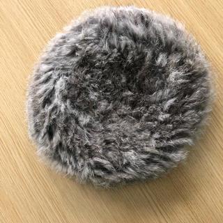 ラビットファーニット帽
