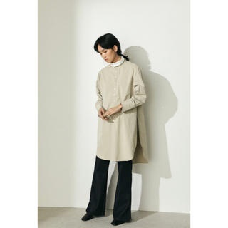TODAYFUL - style_mixer新品ハイスリットロングシャツ clane todayful