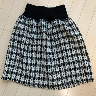 テチチ(Techichi)の美品!テチチ Techichi ツイードスカート(ひざ丈スカート)
