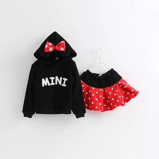 ミニーセットアップ♡パーカー スカート ミニーマウス ディズニー
