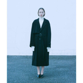 Jieda - stein 19aw LAY CHESTER COAT ネイビー S